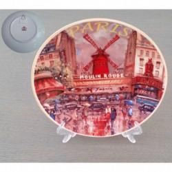 Montmartre Moulin Rouge peinture