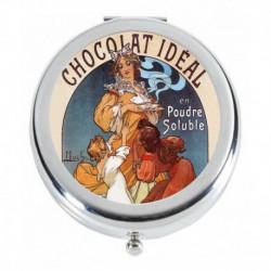 Affiche Mucha chocolat idéal