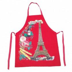 Tablier France Paris rouge
