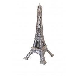 Tour Eiffel 05cm décor argent