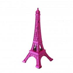 Tour Eiffel 05cm couleur fushia
