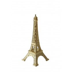 Tour Eiffel 05cm décor laiton
