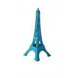 Tour Eiffel 05cm couleur turquoise