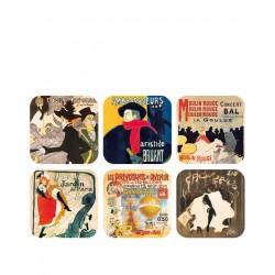Affiche Paris 1900  Toulouse Lautrec