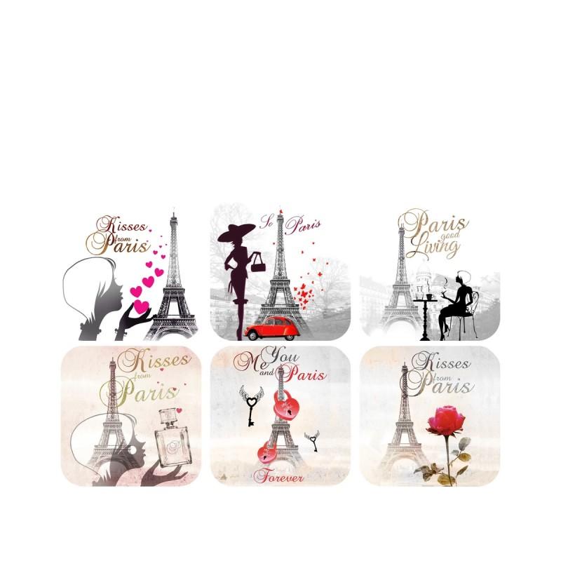 Femmes autour de la tour eiffel souvenirs 2 paris for Autour de la maison rose