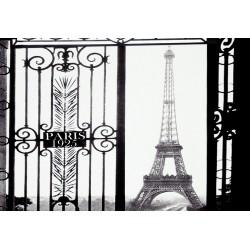 Tour Eiffel La grille