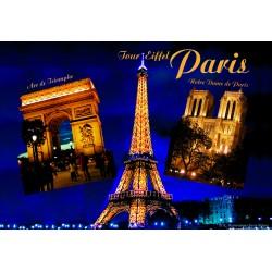 Tour Eiffel illuminées