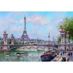 Tour Eiffel Pont AlexaNdre III