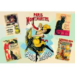 Affiche Montmartre Paris