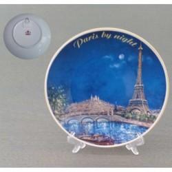 Tour Eiffel Sacré Cœur nuit