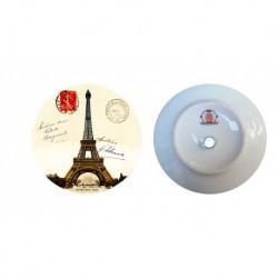 Tour Eiffel timbre rouge 1910