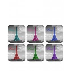 Tour Eiffel en couleur