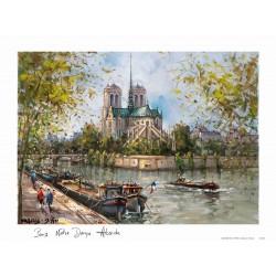 Notre Dame de Paris L'abside