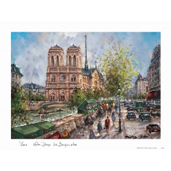 Notre Dame de Paris Place saint Michel