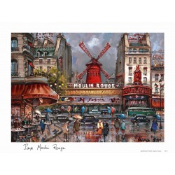 Montmartre Moulin Rouge