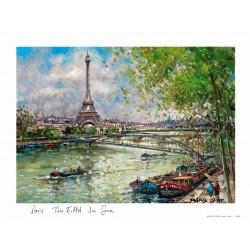 Tour Eiffel La Seine