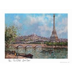 Tour Eiffel Sacré Cœoeur jour