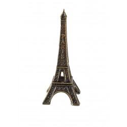 Tour Eiffel 07cm décor bronze
