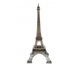 Tour Eiffel 30cm décor bronze