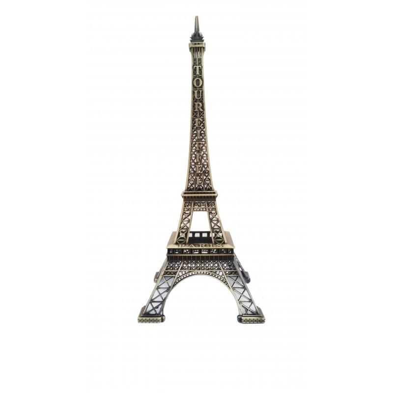 tour eiffel 30cm d cor bronze souvenirs 2 paris
