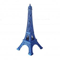 Tour Eiffel 05cm couleur bleu de France