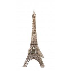 Tour Eiffel 07cm décor argent