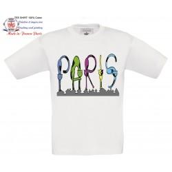 Enfants en vacances à Paris
