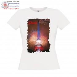 Tour Eiffel Feux d'artifice