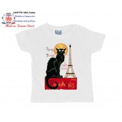 Affiche du Chat Noir de Steinlen à Montmartre