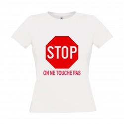 STOP ne pas toucher