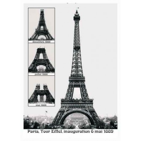 tour eiffel construction souvenirs 2 paris. Black Bedroom Furniture Sets. Home Design Ideas