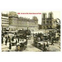 ILE DE LA CITE 1898