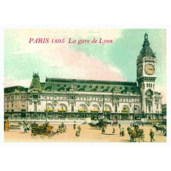 GARE DE LYON 1895