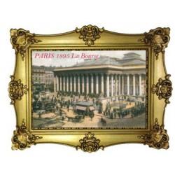 Gravure La Bourse de Paris