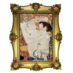 Femme et l'enfant Gustav Klimt
