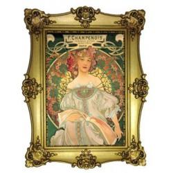 F Champenois Paris 1898 Mucha