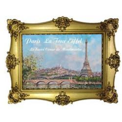 Tour Eiffel + la butte Montmartre