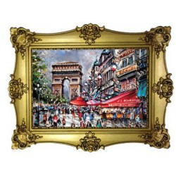Arc de Triomphe Champs Elysées peinture