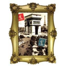 Arc de Triomphe Tour Eiffel timbres