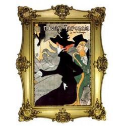 Le divan Japonais Toulouse Lautrec