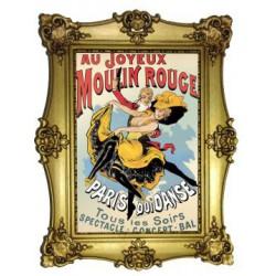 Au joyeux Moulin Rouge Toulouse Lautrec