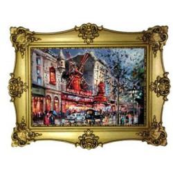 Moulin Rouge peinture