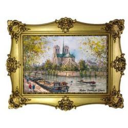Notre Dame de Paris la Seine